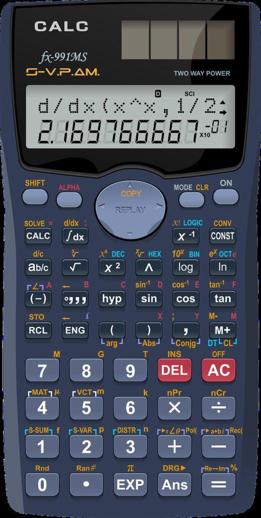 algebra, arithmetic, calculator