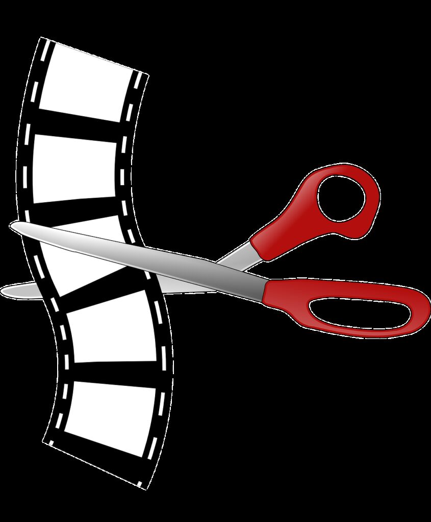 cutting, editing, filmstrip