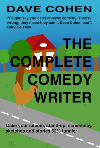 The Complete Comedy Writer book cover